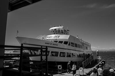 Seattle Harbor Cruise 2015