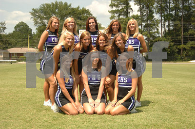 Calvary Cheerleaders 2006