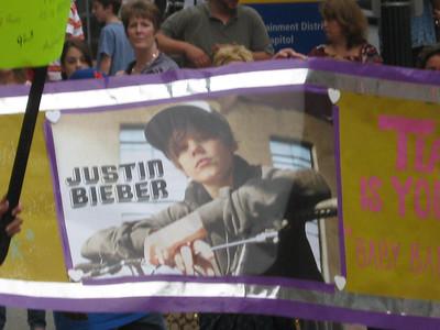 Justin Bieber 8/25/2010