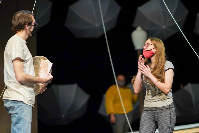 """Eurydice"" Rehearsal"