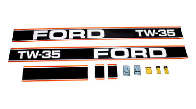 FORD TW 35 SERIES BONNET DECAL SET