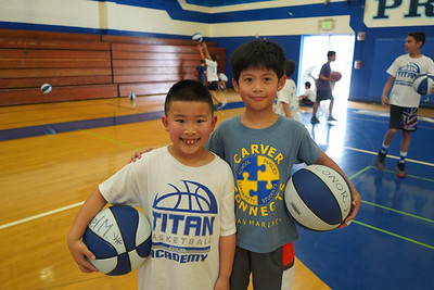 Youngsters Learn the Basics of Basketball