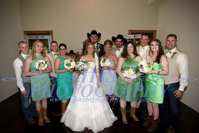 Cvancara Wedding - Bridal Party