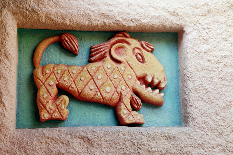 Bengal Barbeque wall decor