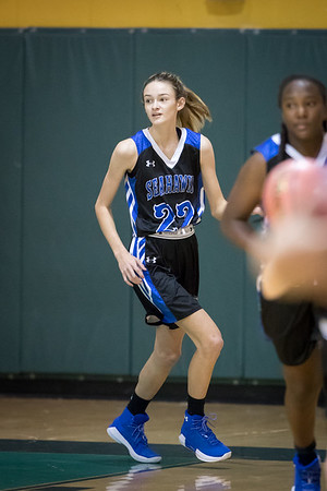 12-01-17: Varsity Girls Basketball CSN vs SJN