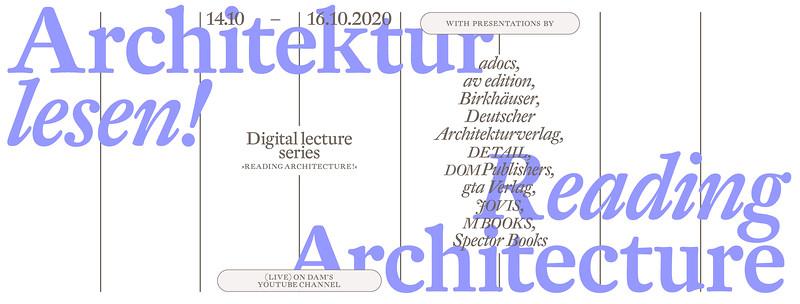 Architektur lesen!