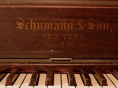 Schumann & Sons Cabinet Grand