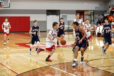 Boys Freshman Basketball - 2/10/2017 Big Rapids