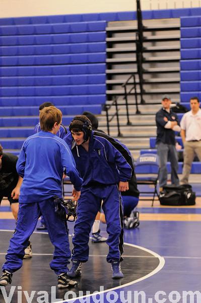 Varsity Wrestling THS vs BWHS vs PVHS 1-12-11- By Chris Anderson