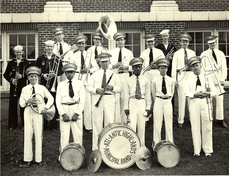 Joe Scheena's AH Municipal Band, circa 1945