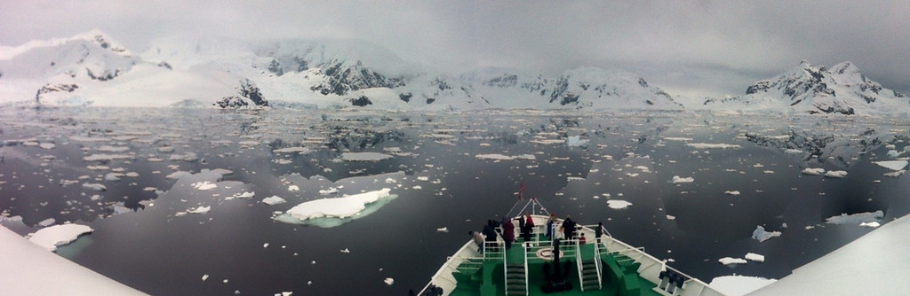 Expedition cruising in Antarctica