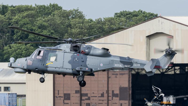 Royal Navy / Agusta Westland Lynx Wildcat HMA2 / ZZ381