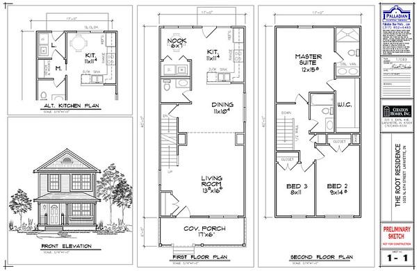1121 N. 8th St. - Floor Plans