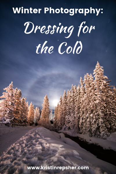 Winter Photography: Dressing for the Cold