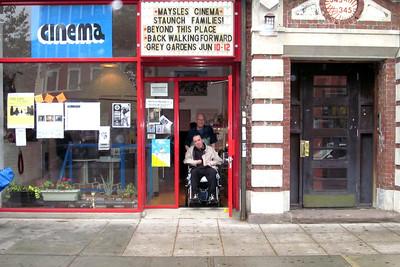 Maysles Screening- Back Walking Forward