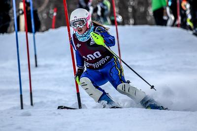 Girls Second Run Slalom