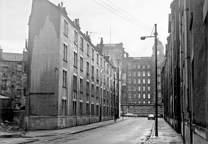 St James Rd between Stirling Rd and Castle St.  March 1973