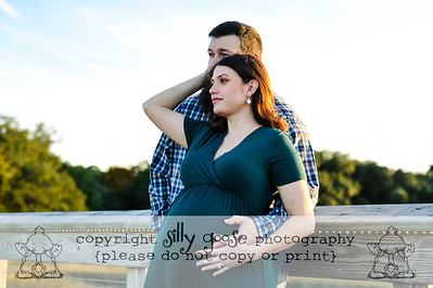 Emily and Bryan Bump Session