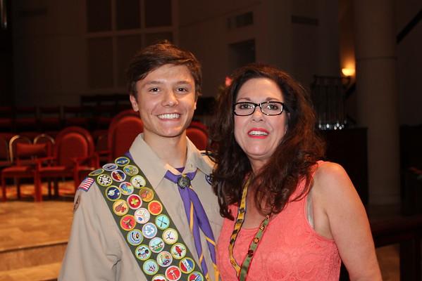 Benjamin Przyborski Eagle Scout Award - Presentation and DInner