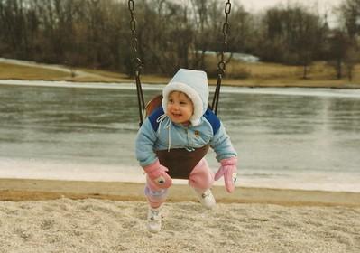 1991-03 Amanda at Park