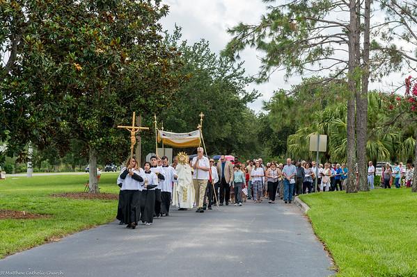 Saint Matthew Corpus Christi Procession