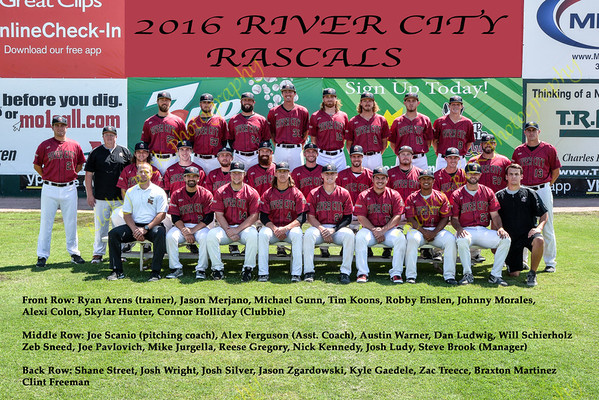2016 Team Photo by printing size