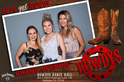 May 18, 2019 - Rowdys Dance Hall Grand Opening