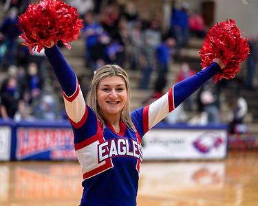 LB Cheerleaders at home basketball game (2020-11-28)