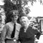Wayne & Grandmother Eldredge