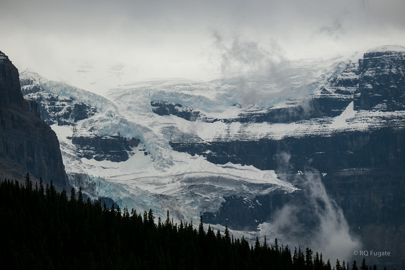 Views from Icefields Parkway headed south.