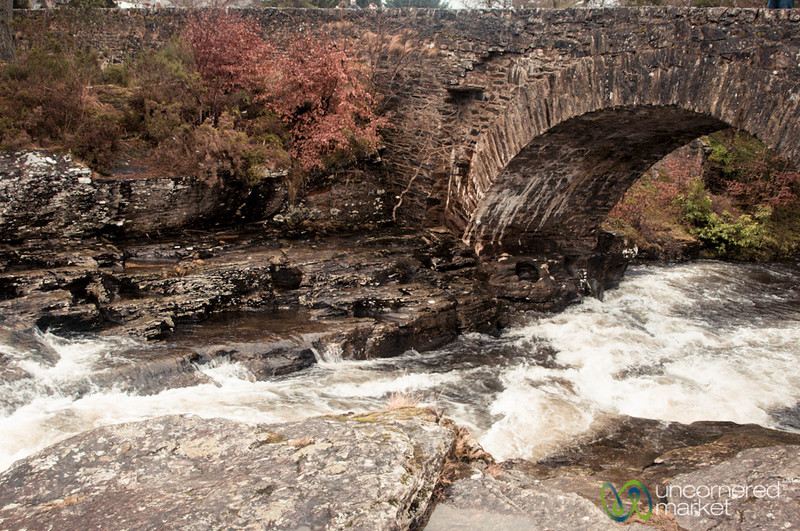 Bridge at Dochart Falls - Killin, Scotland