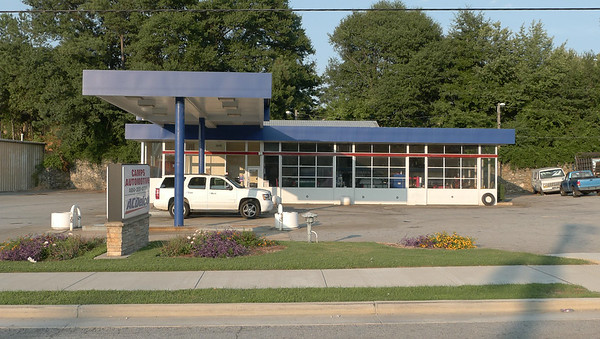 Gas Station George, WA