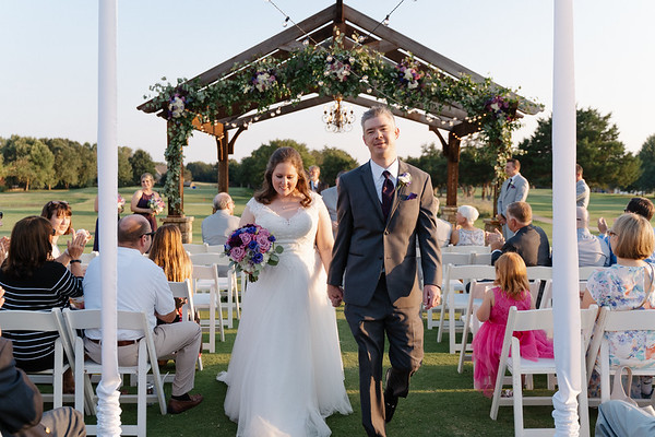The Snyder Wedding at Cobblestone Creek Golf Club in Norman Oklahoma