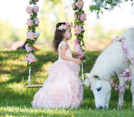 Valentina & Her Unicorn