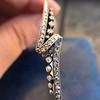 Victorian Rose Cut Diamond Bangle 5