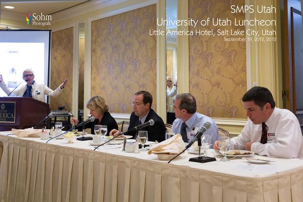 SMPS Utah Luncheon 9-19-12