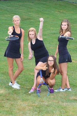 2015 RRHS Tennis Girls