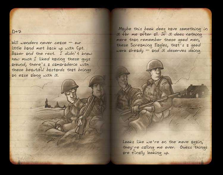 Brothers in Arms Journal Page 8