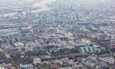2014 10 26 Hamburg von oben Luftbilder