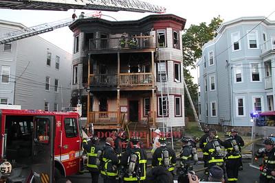 Boston, MA - 3rd Alarm, 29 Linden Street, 6-26-16