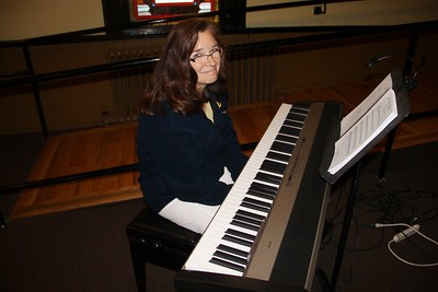 Pre Performance of Sounds of Music, TCAC, Community Arts Center, Tamaqua (7-31-2014)
