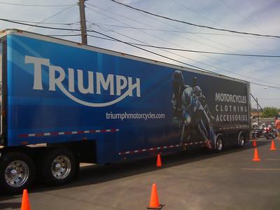 Triumph Demo Rides 4-9-10