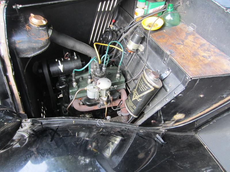VE 9051's engine