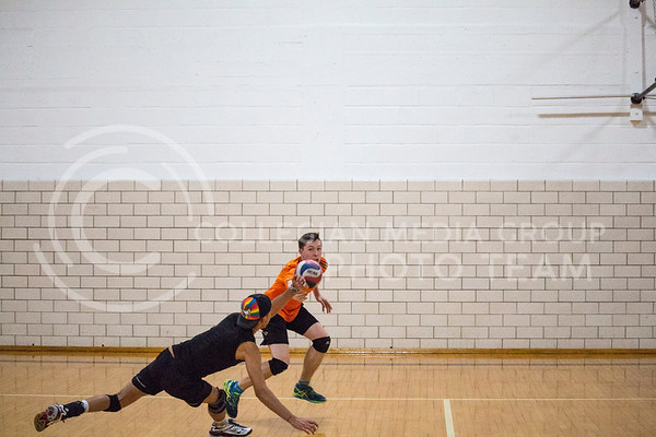 Mens Volleyball Practice