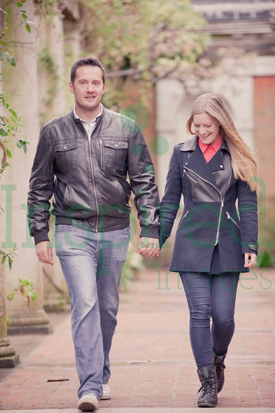 Debbie & Mat - Engagement Shoot - Hampstead Heath