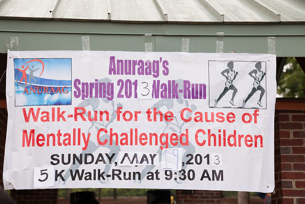 Anuraag's 2013 Spring 5K Walk/Run