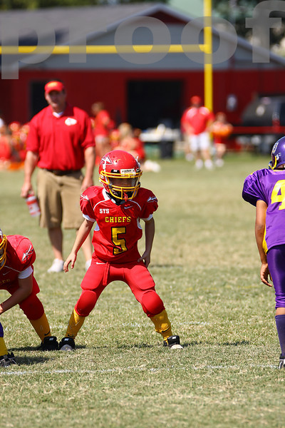 9.27.2008 Pee-Wee Chiefs vs Memphis Bears