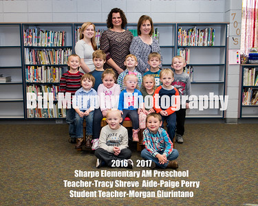 2016 - 2017 Sharpe Elementary Classroom Groups