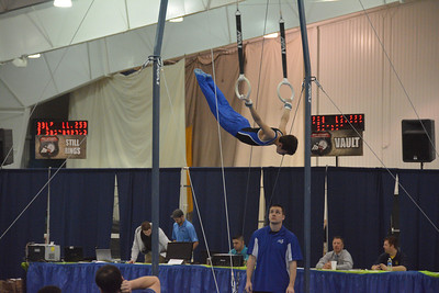 Cameron at Gymnastics Regionals 2014