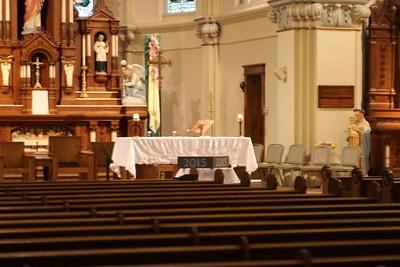 2015 St Anthony cornerstone dedication